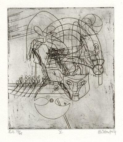Stanley William Hayter, 'Echoes of War', 1979