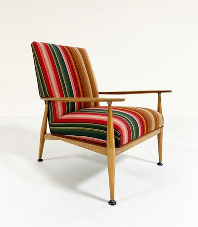 Paul McCobb, 'Model 3041 Lounge Chair in vintage Guatemalan Fabric', mid 20th century