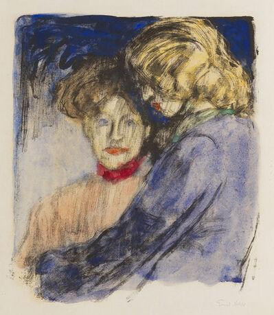 Emil Nolde, 'Junge Mädchen (Ada Nolde und Lis Vilstrup)', 1907
