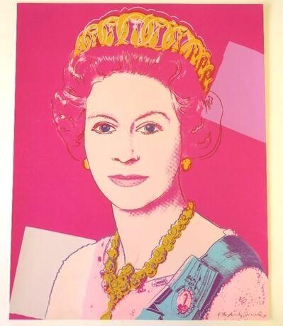 Andy Warhol, 'Queen Elizabeth II of the United Kingdom F.S.II.336a', 1985