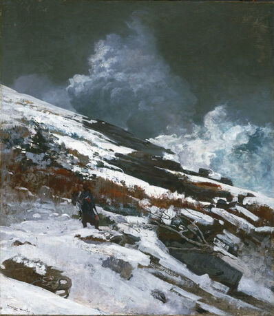 Winslow Homer, 'Winter Coast', 1890