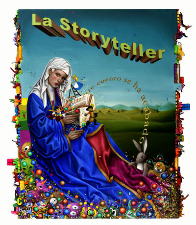 Mario Soria, 'La Storyteller', 2018-2019