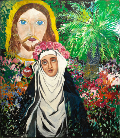 Hunt Slonem, 'St. Rosa of Lima', 1984