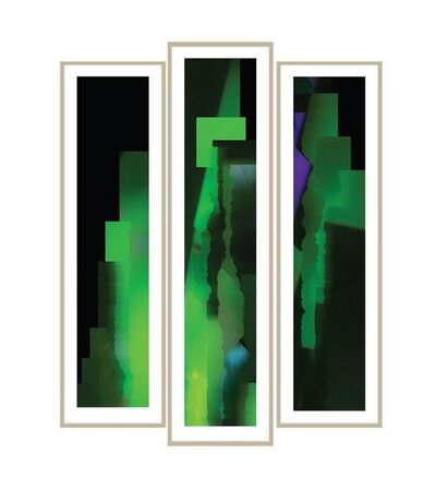 Simon Colley, 'Perspective of Emerald #1, #2, #3, (Edition of 9)', 2019