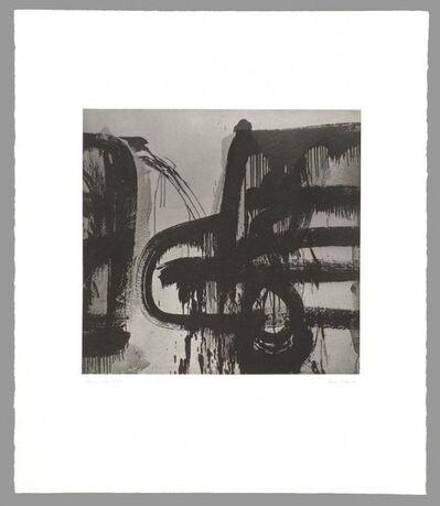 Aaron Siskind, 'Homage to Franz Kline (Lima 55 - 1975)', 1989