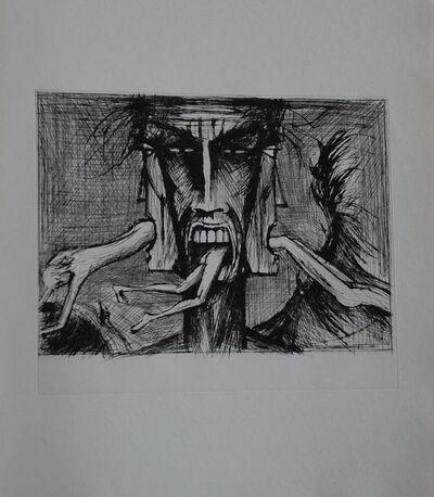 Bernard Buffet, 'L'enfer de Dante / Lucifer', 1977