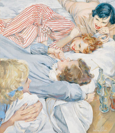 Victor Kalin, 'Pajama Party', 1950-1959