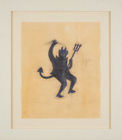 Robert Therrien, 'No title (purple devil)', 1991