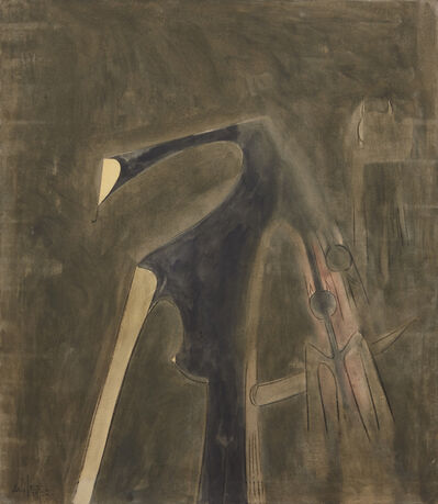Wifredo Lam, 'Midnight', 1962