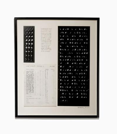 Leandro Katz, 'Oración Lunar II', 1980-2015