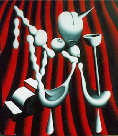 Mark Kostabi, 'The Anatomy of House Music', 1988