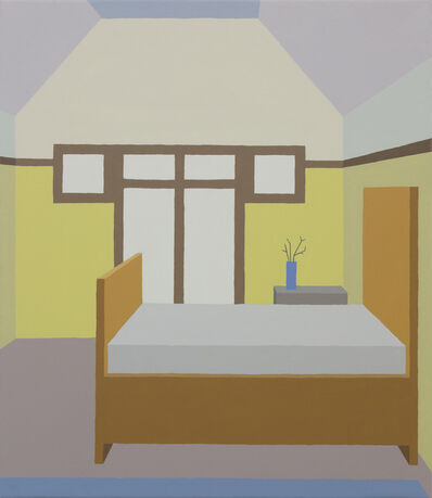 Zsofia Schweger, 'Bedroom at the Frank Lloyd Wright Home and Studio in Oak Park, Illinois', 2019