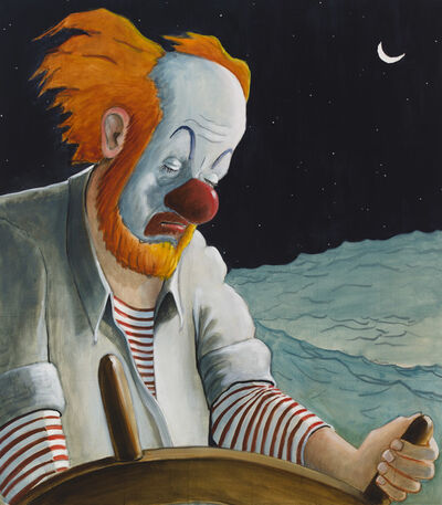 Sean Landers, 'Around the World Alone (Waxing Moon Torpor)', 2011