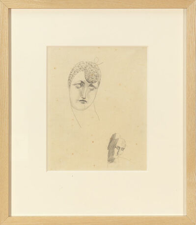 Elie Nadelman, 'Two Heads', 1910