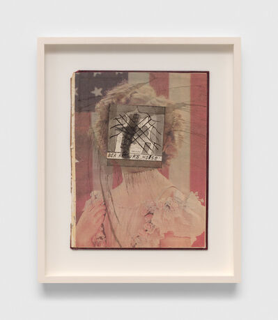 Ray Johnson, 'Untitled (Bea Arthur's House)', 1991