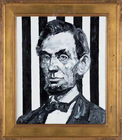 Hunt Slonem, 'Lincoln', 2019