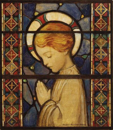 JESSIE WILLCOX SMITH, 'Child Praying  ( Golden Age of Illustration )', 1920