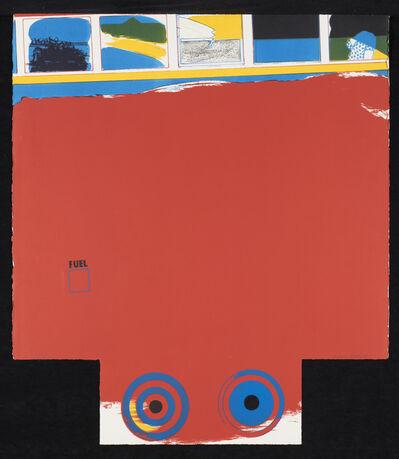 Allen Jones, 'A Fleet of Buses. London Bus', 1966