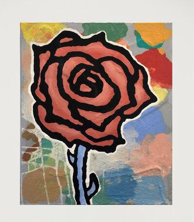 Donald Baechler, 'Rose', 2020