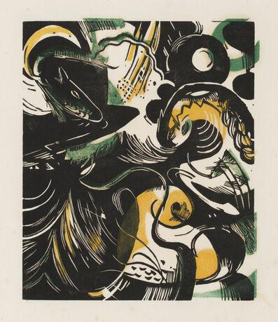 Franz Marc, 'Genesis II', 1914