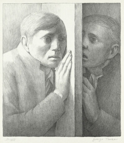 George Tooker, 'The Voice', 1977