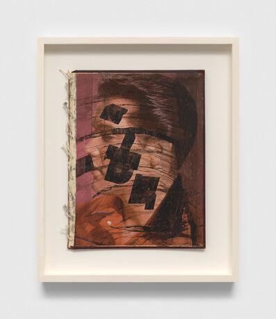 Ray Johnson, 'Untitled (Elvis book)', 1991