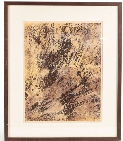 Jean Dubuffet, 'Le Sol Allegre (Lively Soil)', 1958