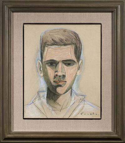 John Craxton, 'Portrait of Petros Mastropetros', 1946-1947