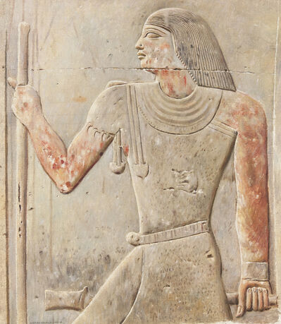 Joseph Lindon Smith, 'Tomb of Meruka'