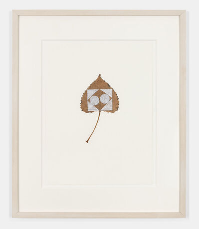 Gabriel Orozco, 'Square Snow On Leaf', 1992