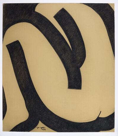 Jan Yoors, 'Jan Yoors, Charcoal Drawing G-49.37, USA, 1975', 1975