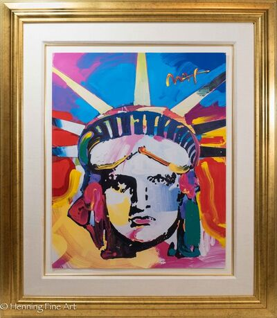 Peter Max, 'Liberty Head, Large', ca. 2000