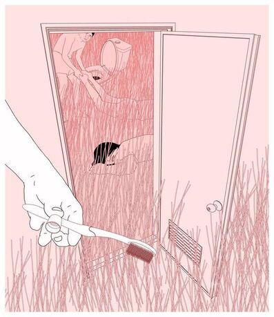 Hsu Che-Yu, 'I had a friend who died in the bathroom', 2015