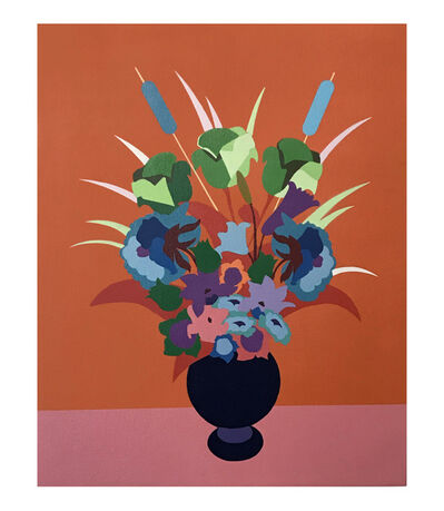 Jason Pulgarin, 'Flowers for the Rich ( Orange )', 2019