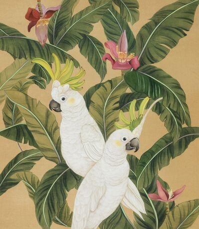 Eunice Cheung Wai Man 張惠文, 'Green Love - Cockatoos', 2016
