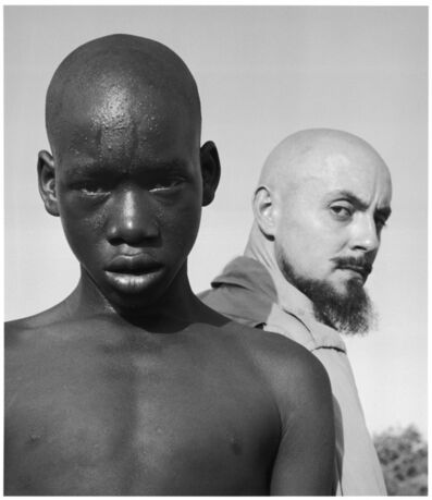 Hector Acebes, 'Unidentified Boy and Hector Acebes, West Africa', 1953