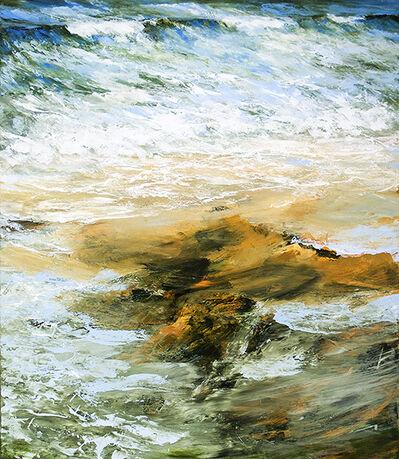 Réal Calder, 'Terre et mer V', 2018