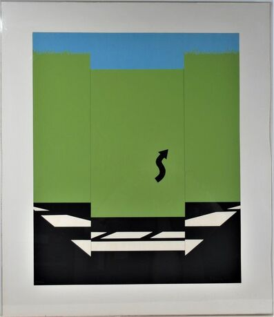 Allan D'Arcangelo, 'Landscape 1 from 11 Pop Artists Series', 1965