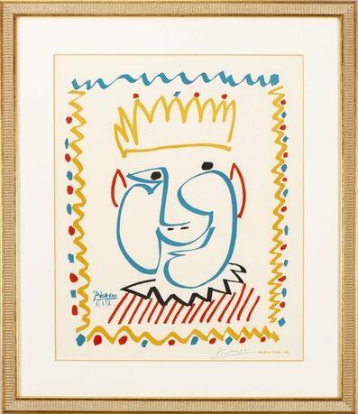Pablo Picasso, 'Tête de Roi (Affiche pour le Carnaval de Nice)', 1951