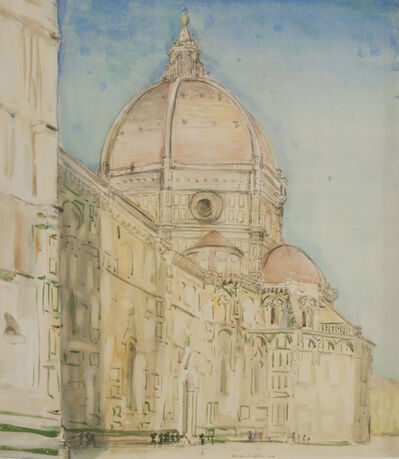Donald Shaw MacLaughlan, 'The Duomo, Florence', 1914