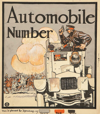 Edward Penfield, 'Collier's Weekly Cover, Automobile Number', 1914