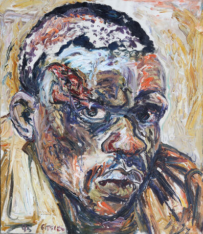 George Gittoes, 'Oil Study for Samuel', 1995