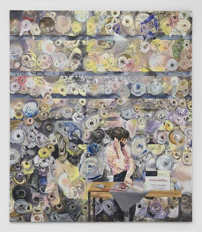 Paulina Olowska, 'At the Boerenbonthal Stoffen ', 2019