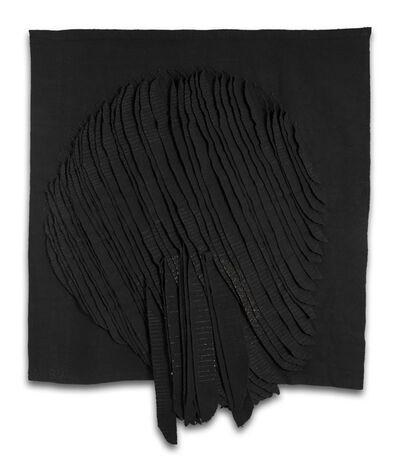 Jagoda Buic, 'Cercle dinamiqiue noir [Dinamic black circle]', 1978