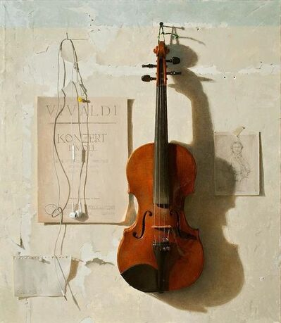 Jacob Collins, 'Violin', 2015