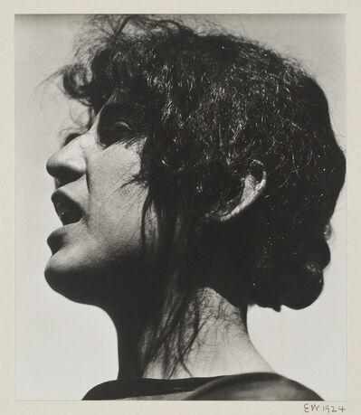 Edward Weston, 'Guadalupe Marin de Rivera', 1923