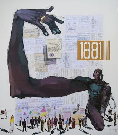Dawit Abebe, 'Long Hands 23', 2021