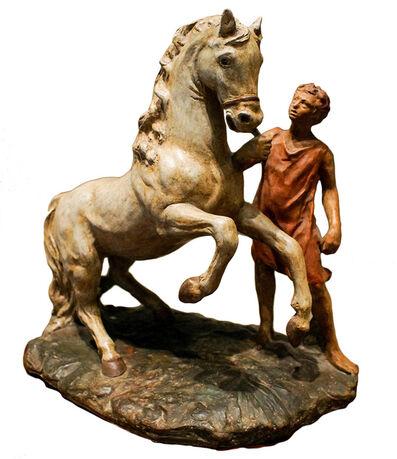 Giorgio de Chirico, 'Horse and Boy', 1950