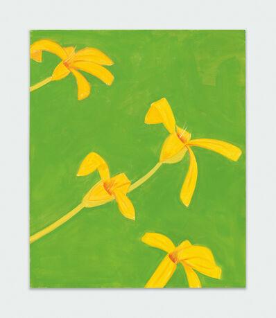 Alex Katz, 'Untitled, yellow-green', 2019