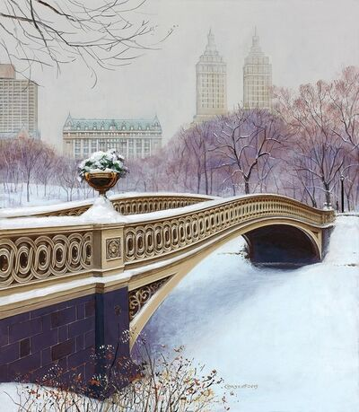 Jenness Cortez, 'The Bow Bridge in Winter', 2019
